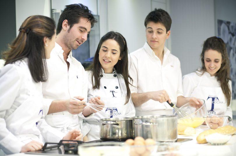 Blog escuela de cocina telva for Cursos de cocina para regalar