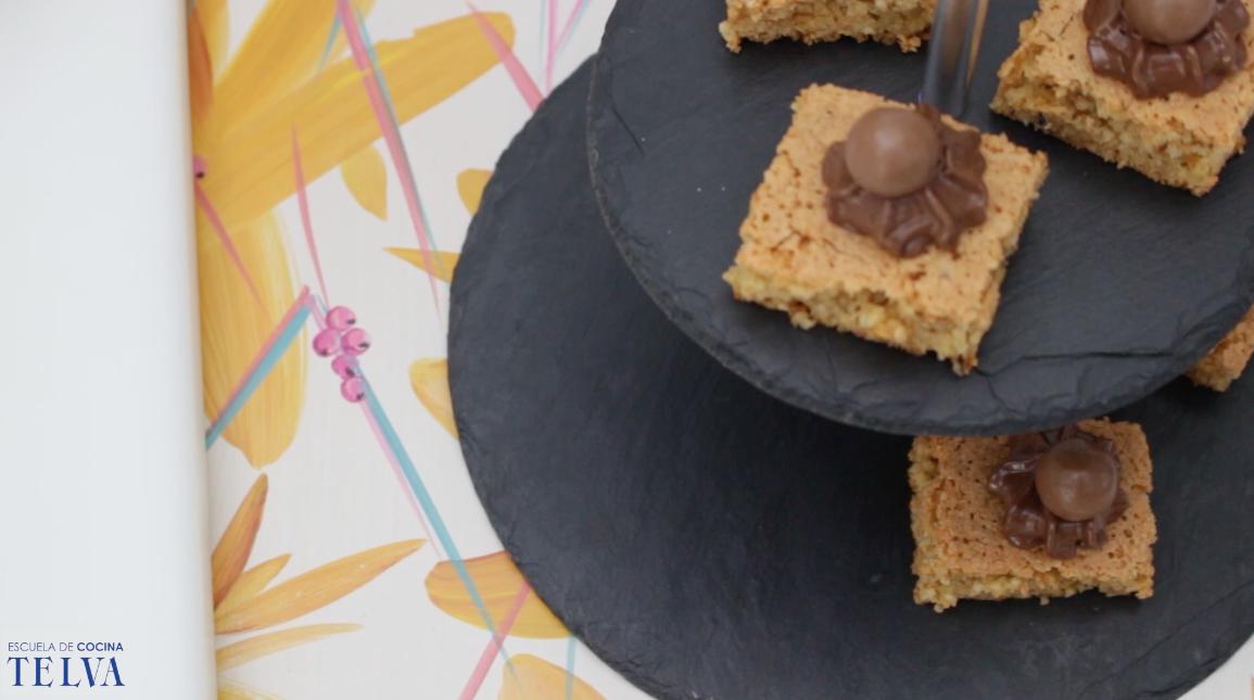 Brownie de avellanas y nutella Escuela de Cocina TELVA Recetas