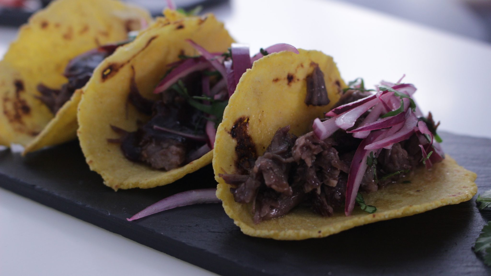 Curso de técnicas avanzadas de la Escuela de cocina TELVA Programa Tacos mexicanos