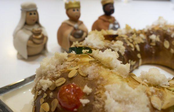Curso de tecnicas intermedias de la Escuela de cocina TELVA - Programa - Roscon de Reyes