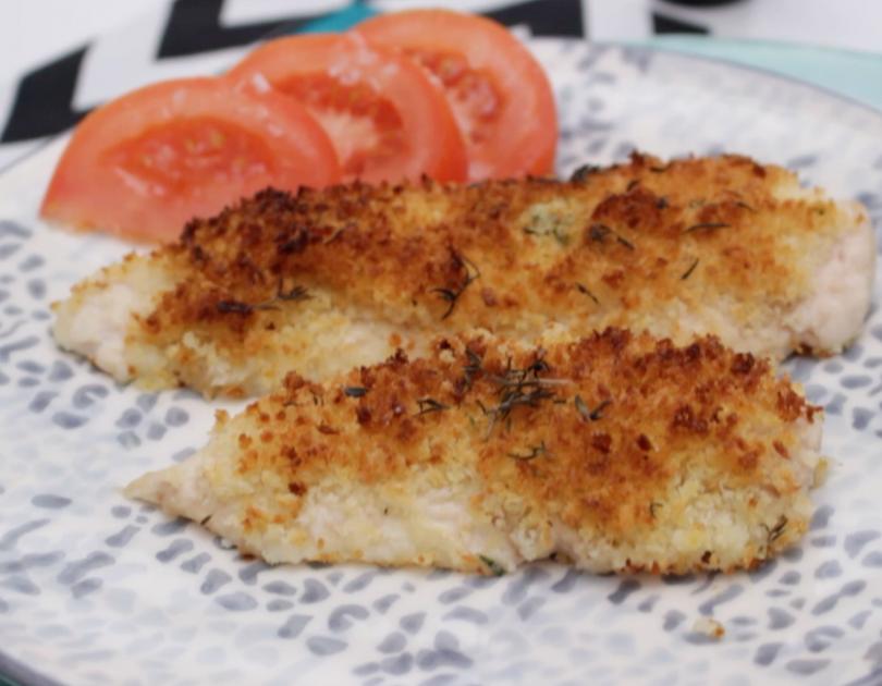 Escalope de pollo Escuela de Cocina TELVA Recetas