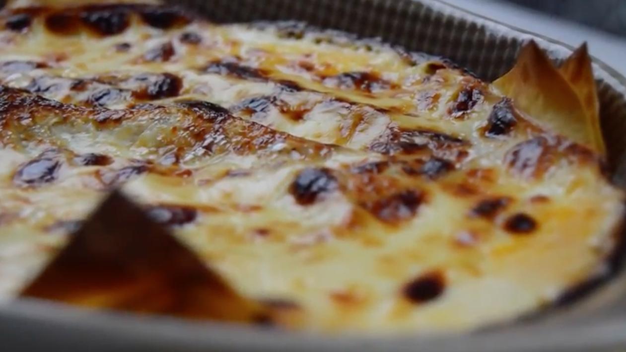 Lasaña con parmesano Receta TELVA - Escuela de Cocina TELVA