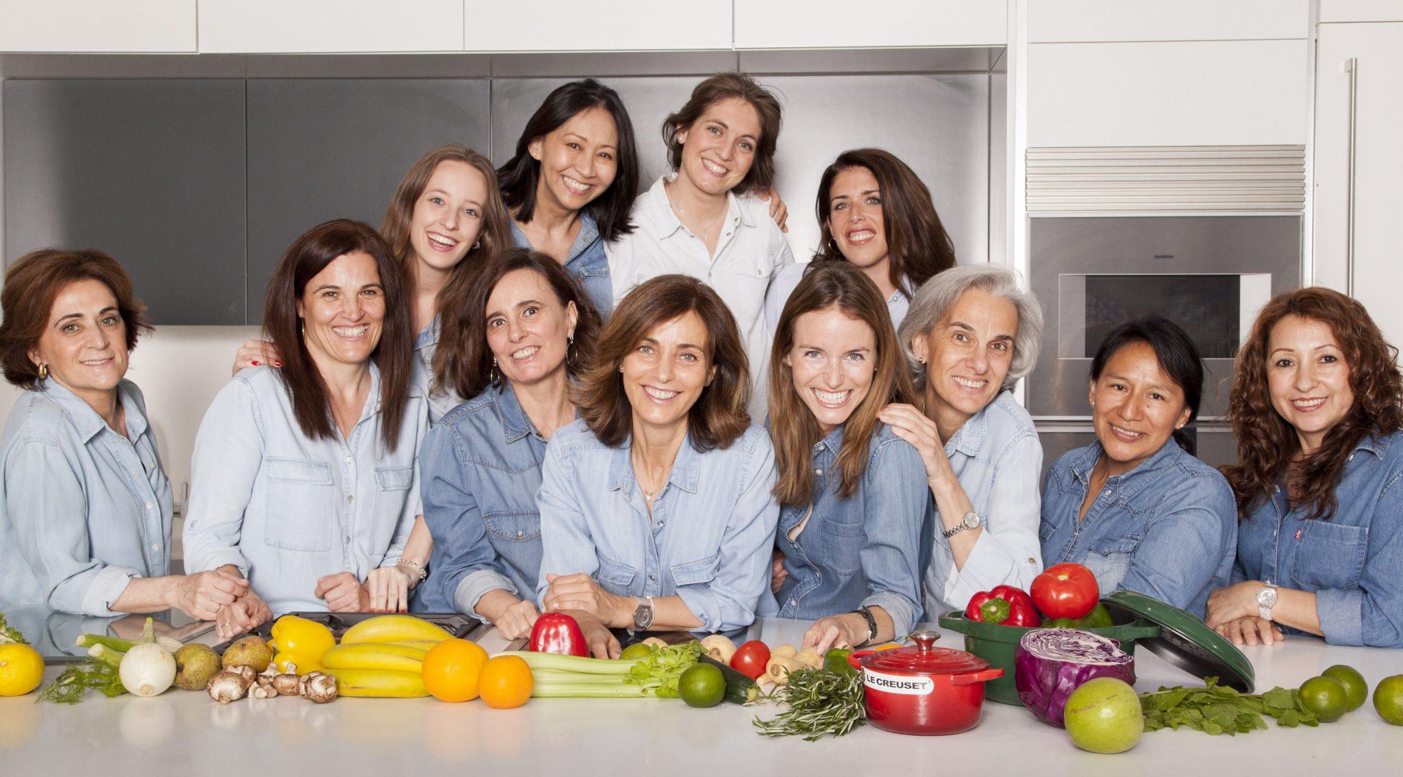 Escuela de cocina TELVA Equipo de la escuela de cocina TELVA