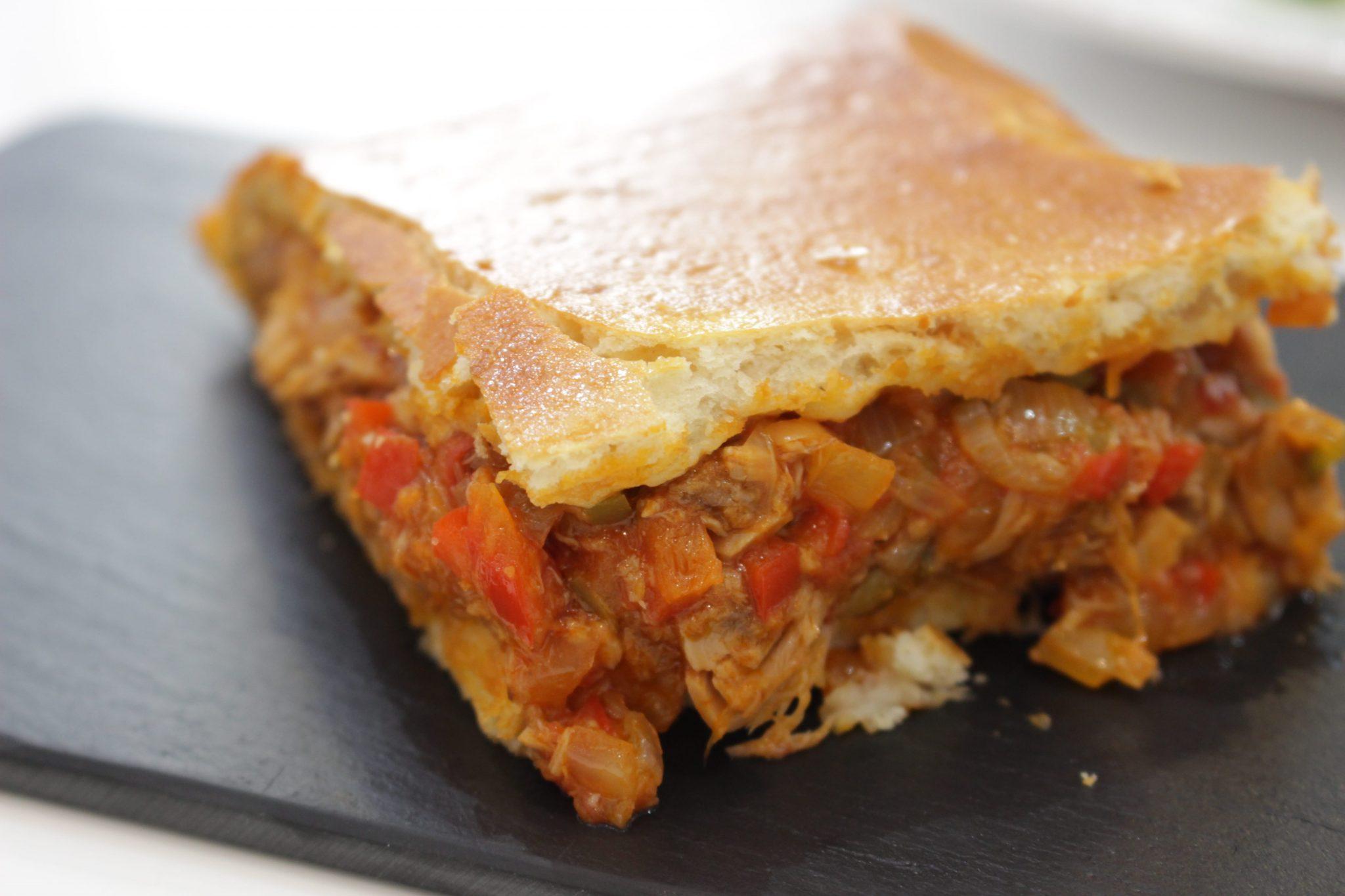 Empanada gallega Escuela de Cocina TELVA Recetas