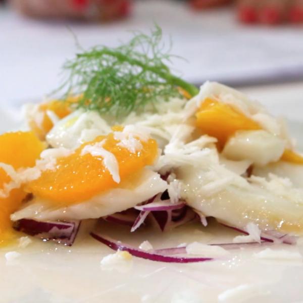 Ensalada de bacalao con naranja Escuela de cocina TELVA Recetas