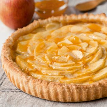 Tarta sable de manzana Escuela de cocina TELVA