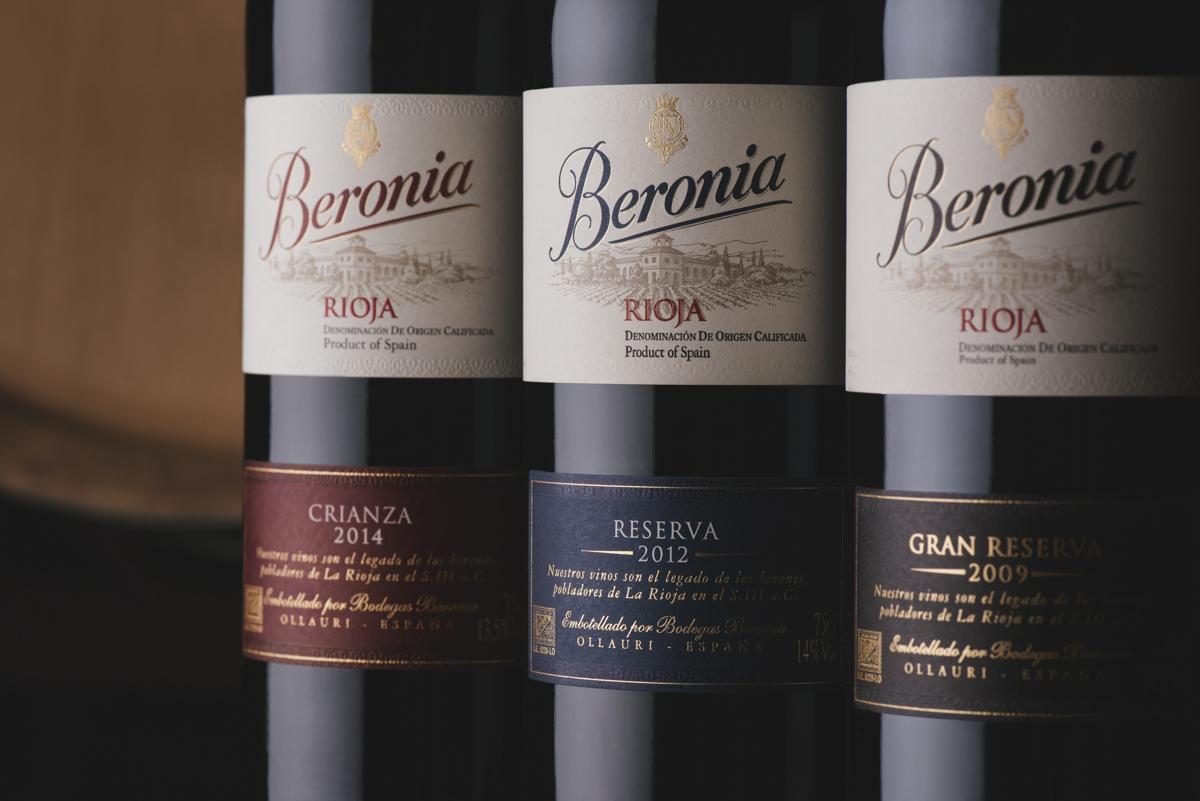 Los vinos Beronia en la Escuela de Cocina TELVA