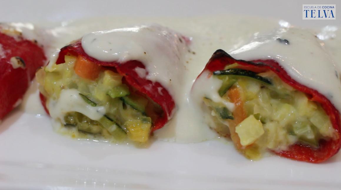 Pimientos del piquillo Escuela de Cocina TELVA Recetas