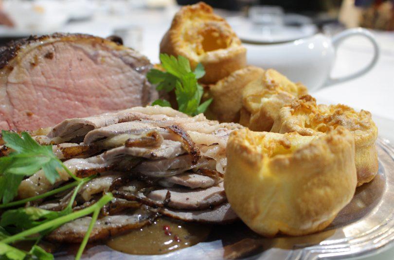Roast-Beef con su guarnición