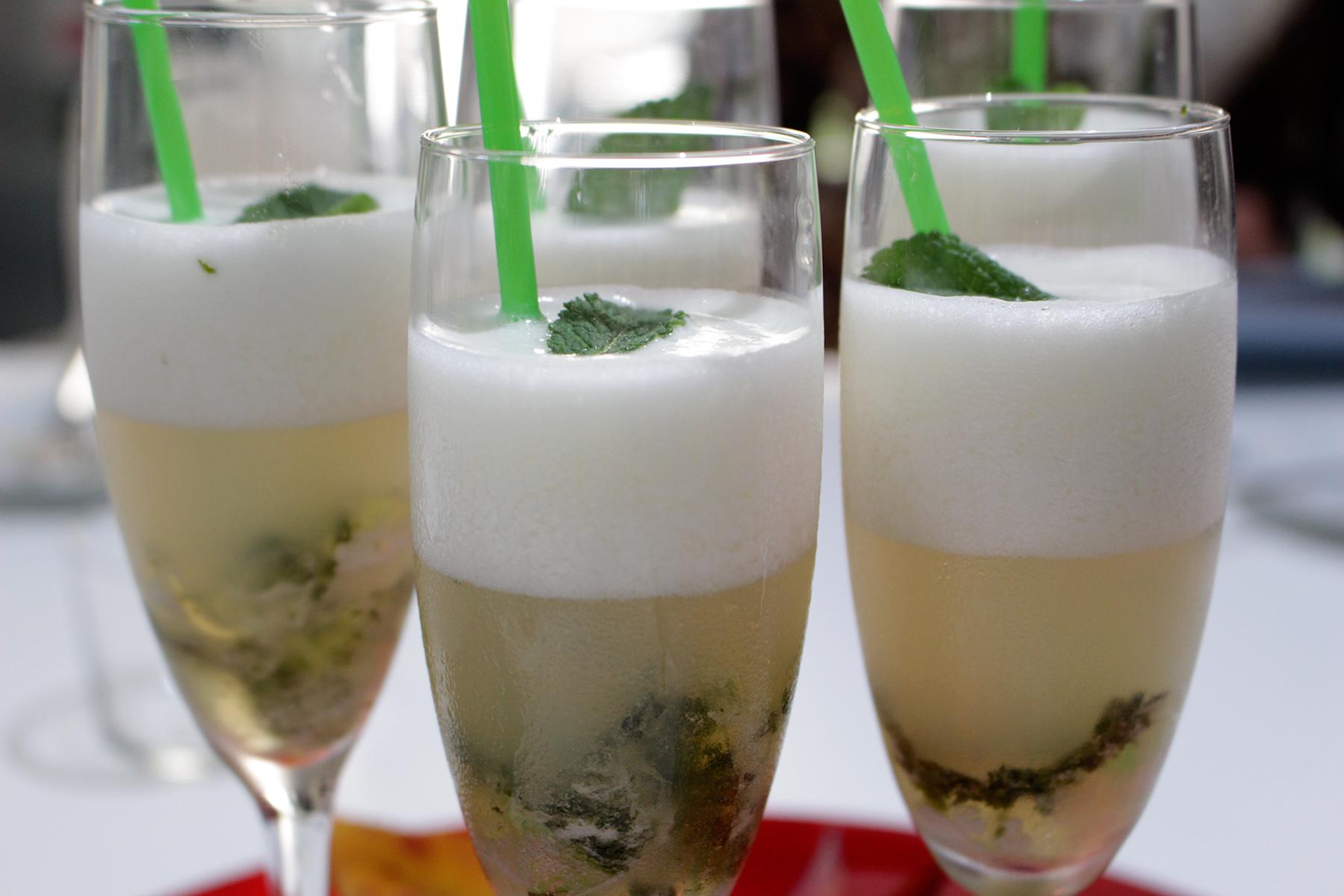 Receta sorbete de limón y cava Escuela de Cocina TELVA