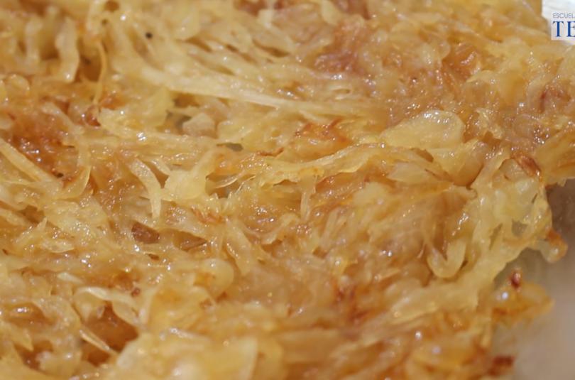 Como caramelizar cebolla Escuela de Cocina TELVA Recetas