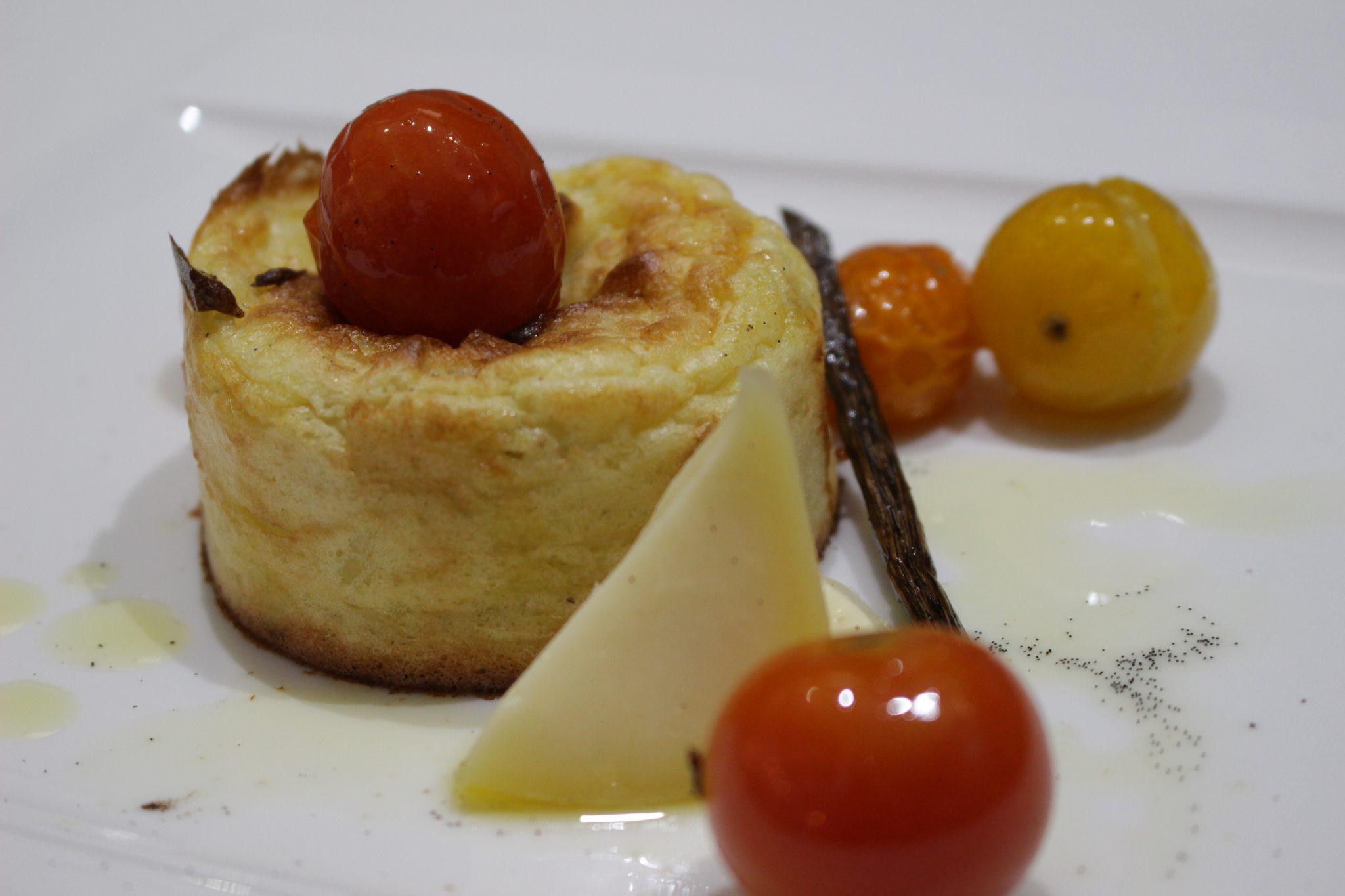 Coulant de patata y torta del Casar Escuela de cocina telva