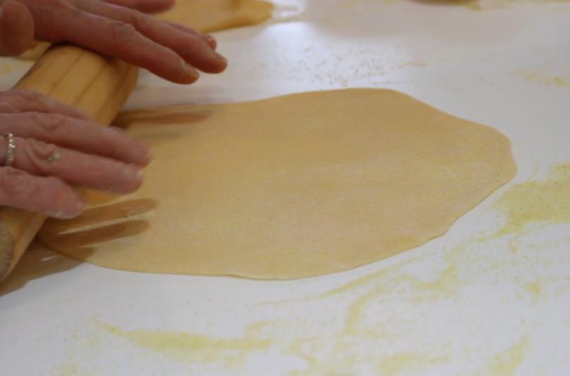 Pasta fresca Escuela de Cocina TELVA Recetas