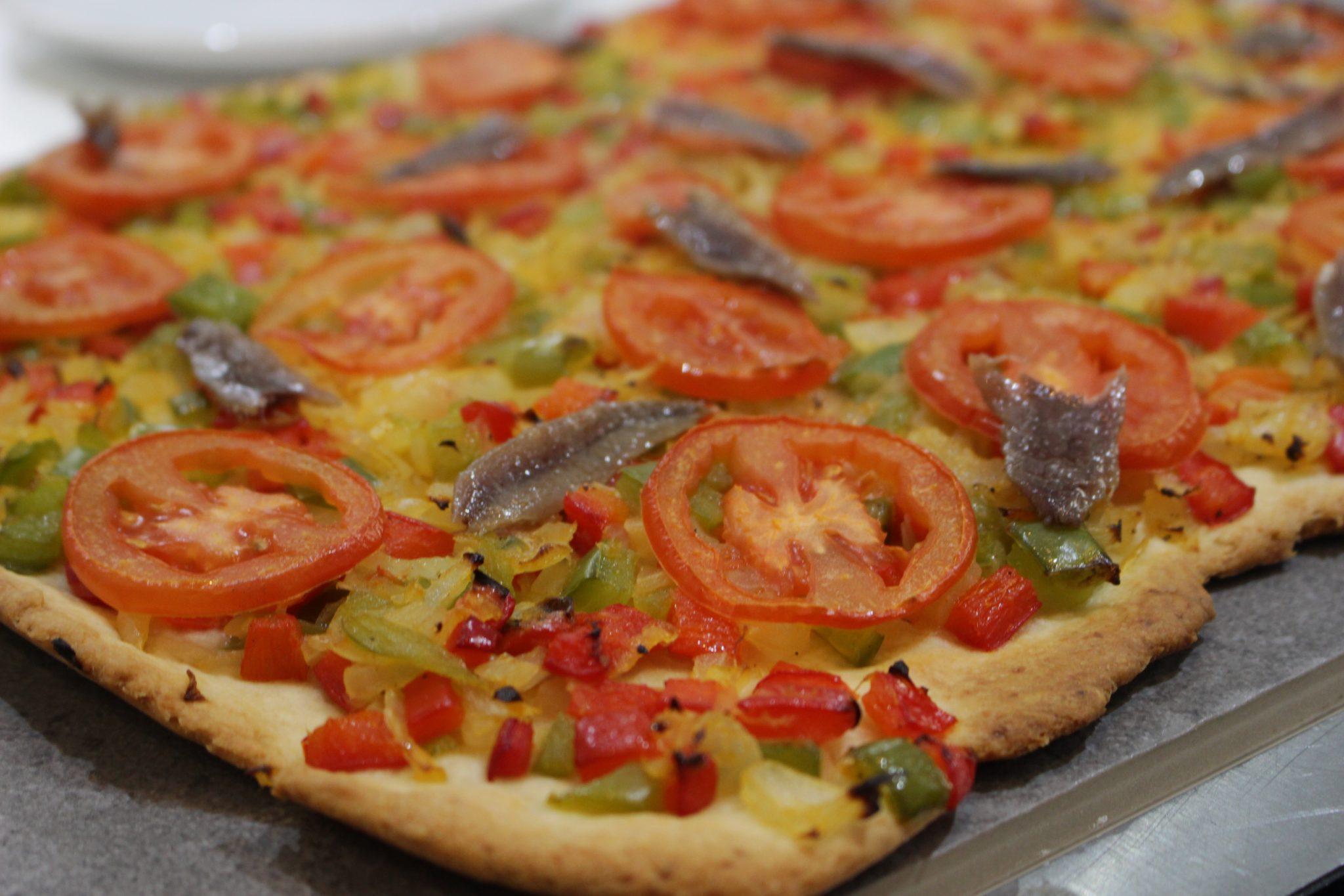 coca de verduras Escuela de cocina telva