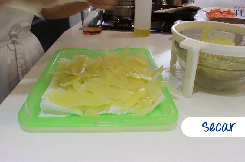 Como hacer patatas fritas muy crujientes