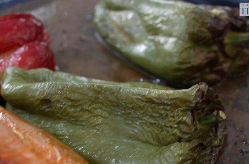 Como Asar verduras al horno Escuela de Cocina TELVA