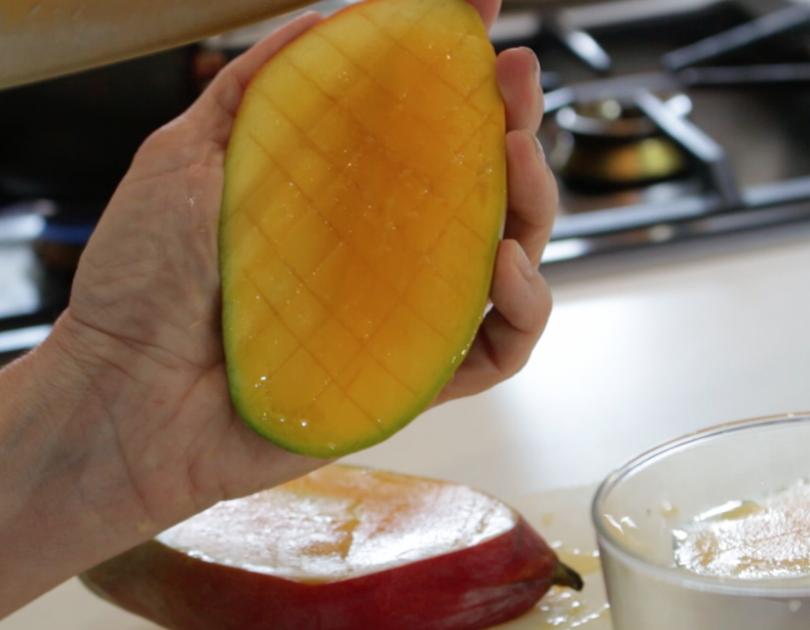 Como cortar un mango