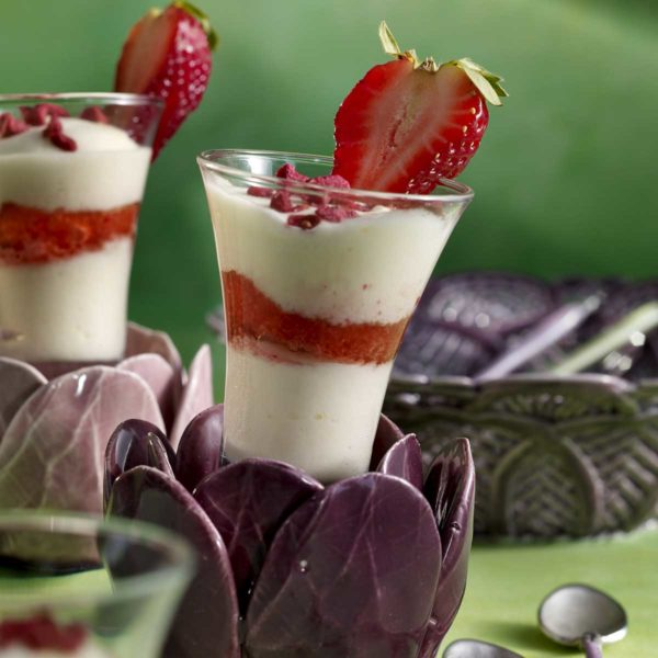 Tiramisú de fresas Escuela de Cocina TELVA