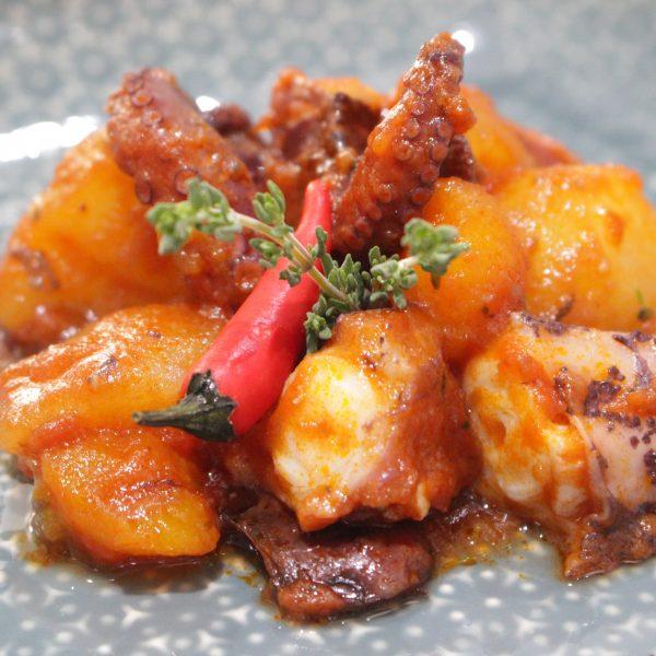 Clase online cocina - Escuela de cocina telva online - guiso pulpo