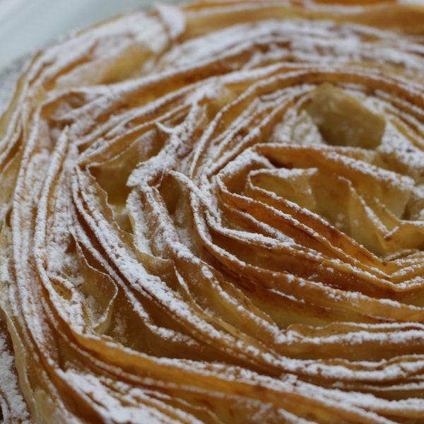 Clase online cocina - Escuela de cocina telva online - tarta rizada de filo