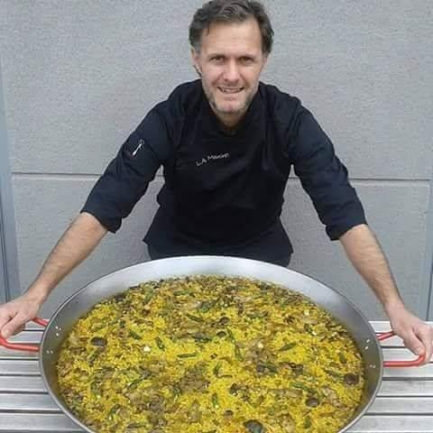 Luis Alberto Mouchet Escuela de Cocina TELVA