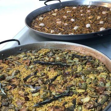 Paella y fideua Escuela de Cocina TELVA