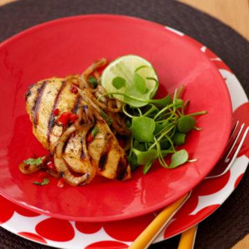 Pechugas de pollo Escuela de Cocina TELVA