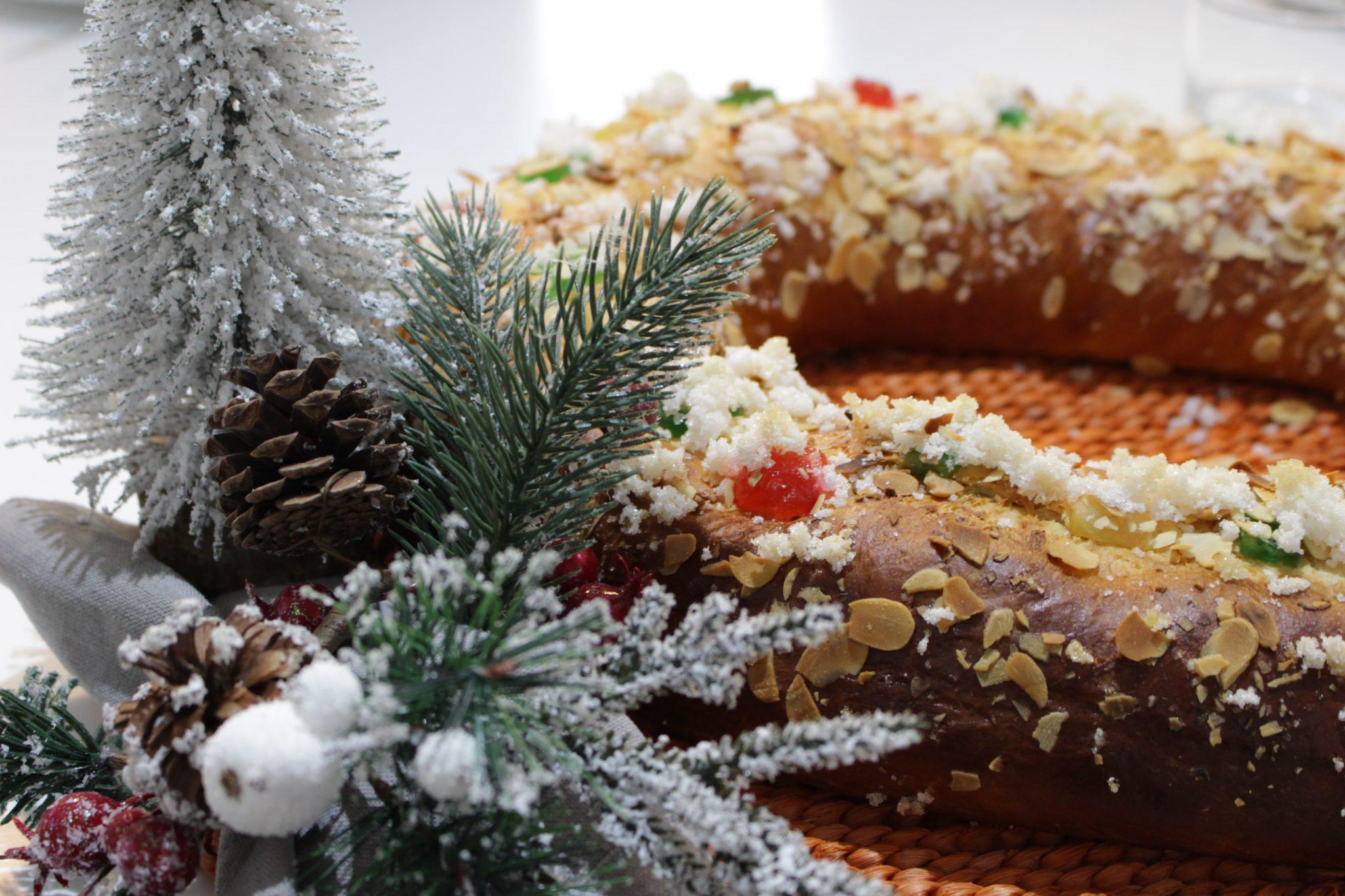 Roscon de Reyes Escuela de Cocina TELVA
