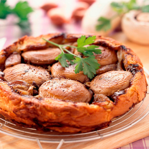 Tartaletas de setas Escuela de Cocina TELVA