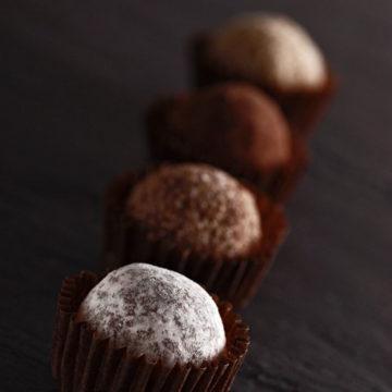 Trufas de chocolate Escuela de Cocina TELVA
