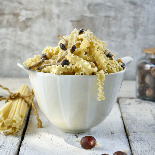 Pasta con salsa de setas Escuela de cocina telva